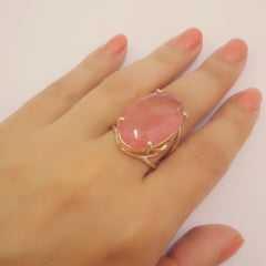 anel cristal cherry - modelos variados