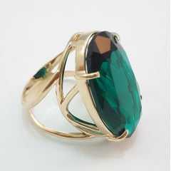 anel  cristal  cor verde turmalina - modelos variados