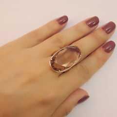 anel cristal cor GOLDEN SHADES - modelos variados