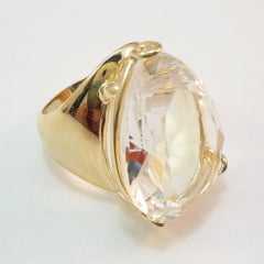anel  pedra CRISTAL WHITE - modelos variados