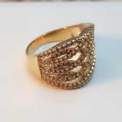 anel zircônia -10