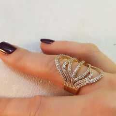 anel zircônia -15