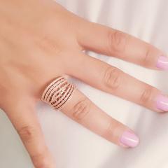 anel zircônias -20
