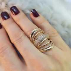 anel zircônia -23