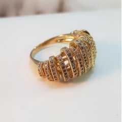 anel zircônia -24