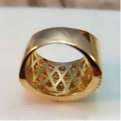 anel zircônia -30