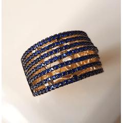 anel zircônia safira 10