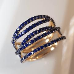 anel zircônia safira 3