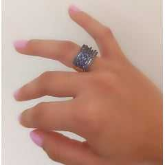 anel zircônia safira 6