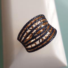 anel zircônia safira 7
