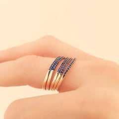 anel zircônia safira 9