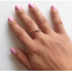 anel zircônia white 9