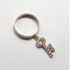 anel zircônias white 2