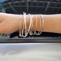 pulseira de elos