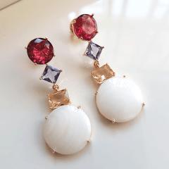 Conjunto colar e brinco - Modelo Malabaris 6