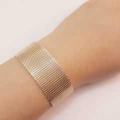 pulseira bracelete - malha fita